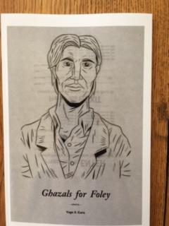 Ghazals for Foley, ed. Yago S. Cura, 2016 Hinchas Press
