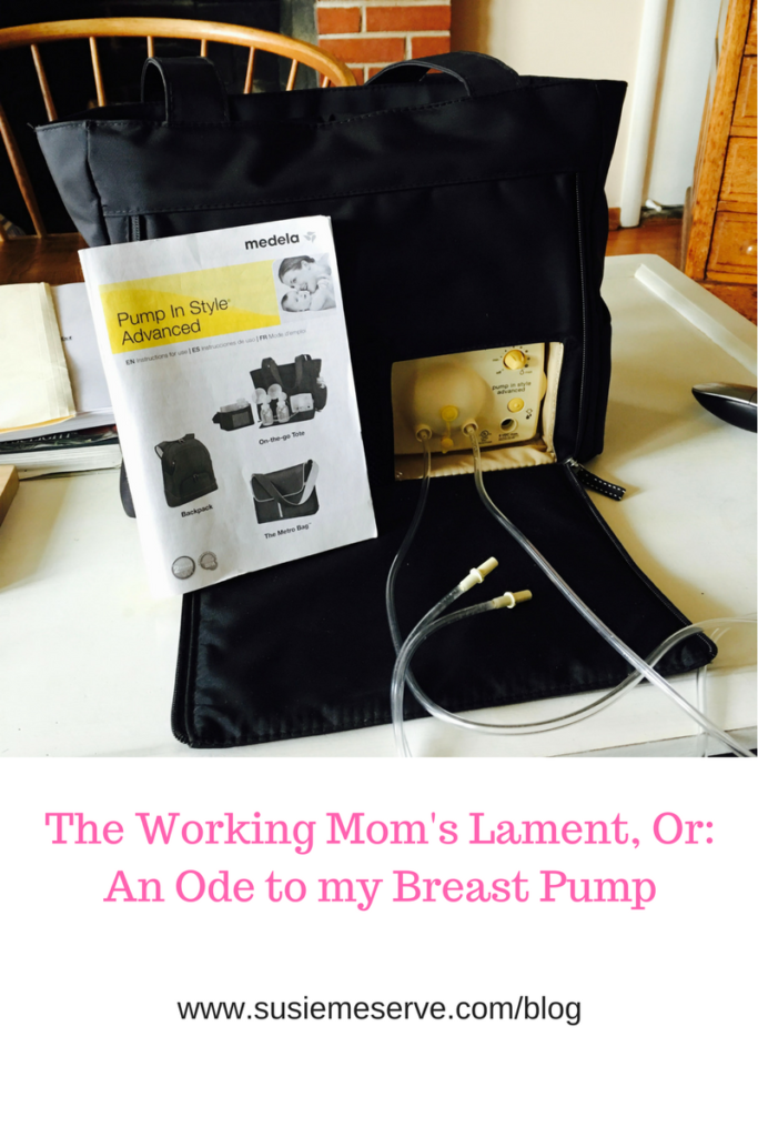 Because this working mom would be lost without her Medela.