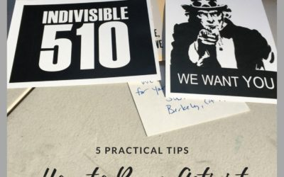 How to Be an Activist: Five Practical Tips